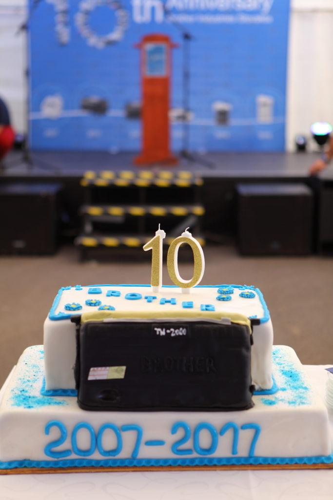 Foto torty 10.-teho výročia